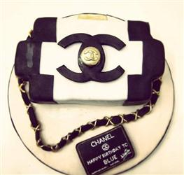 Channel Bag Shape Cake